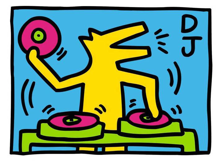 キース・ヘリング DJ