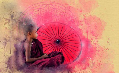 子供の瞑想